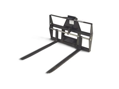 Utility Vehicle Pallet Fork Attachment